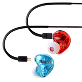 BASN Tempo Deep Bass Earphones with Microphone, Noise Isolating In ear Monitor Headphones(1)(1)